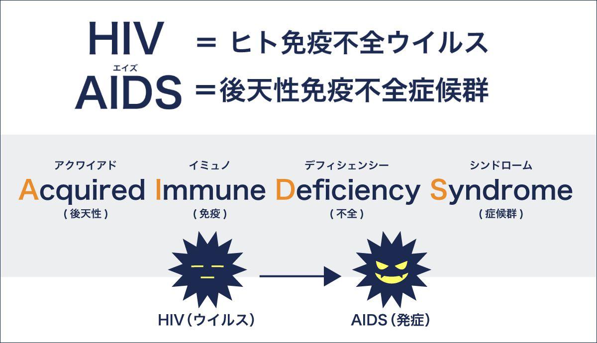 HIVとAIDS(エイズ)とは…? | 性...